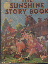 The Sunshine Story Book 1939 McLoughlin Brothers Inc Old & New Stories