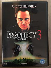 Christopher Walken Vincent Spano THE PROPHECY III / 3 ~ Culto Terror GB DVD