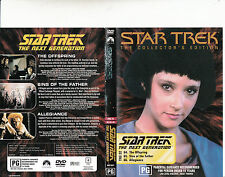 Star Trek:The Next Generations-TNG 22-1987/94-TV Series USA-3 Episodes-DVD