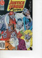 JUSTICE LEAGUE EUROPE 26 MAY 1991 VERY GOOD