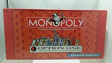 Monopoly Option One Mortgage Corporation Limited Edition Board Game Sealed