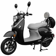 Boom 800W 48V Electric Moped Scooter 573N Brushless Motor Black