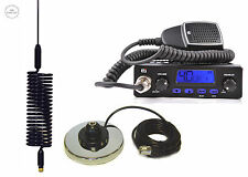 RADIO CB MOBILE tti-550 + ANTENNA CB SPRINGER NERO + base magnetica 1550mm
