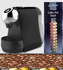 BLAZER Nespresso pods coffe in Delonghi Lattissima style coffee Machine + POD ST