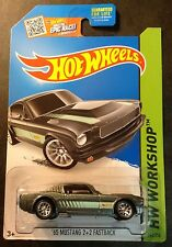 Hot Wheels Super CUSTOM 65 Mustang 2+2 Fastback with Real Riders