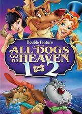 All Dogs Go to Heaven/All Dogs Go to Heaven 2 (DVD, 2014, 2-Disc Set) NEW