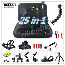 Accessories kit set Head Chest Mount Floating Monopod For GoPro 1 2 3 4 Camera