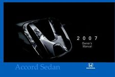 2007 Honda Accord Sedan Owners Manual User Guide Reference Operator Book Fuses
