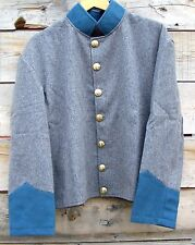 civil war confederate reenactor infantry shell jacket  48