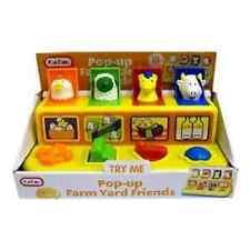 Pop up Farm yard Friends Baby & Toddler Farmyard Animals Toy New