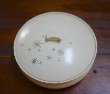 Vintage 1970s Avon Bright Night Beauty Dust Starburst Perfume Powder Jar w/ Top