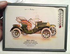 Framed 1972 Ken's Arco Full Car Service Station Advertising Old Car Thermometer