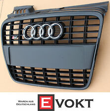 Audi A4 B7 8E Front Grille 2004-2008 With S-Line S4 Bumper Logo Grill Genuine