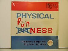 SEALED ! Physical Funness LP Children;s Songs for Rhythmic Activities- Kimbo USA