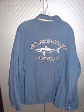 Ralph Lauren Polo GREY REEF SHARK TOURNAMENT Windbreaker Sailing Jacket Coat