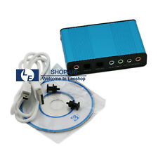 New USB Audio 6 Channel 5.1 External Sound Card Adapter for PC Laptop Notebook