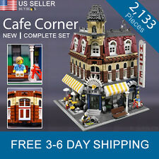 Cafe Corner 10182 Modular Building CREATOR Set - New Complete Set
