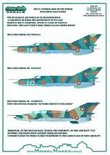 "Model Maker Decals 1/72 MIKOYAN MiG-21 ""FISHBED"" Bulgarian Air Force Last Flight"