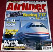Airliner World 2003 August Privatair,Boeing 717,An22,Air Tahiti Nui,Belavia