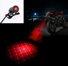 Motorcycle Laser Safety Anti-Collision Rear Decorative Fog Light Warning Lamp HL