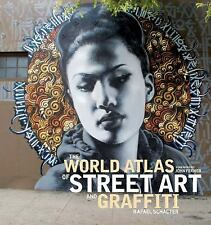THE WORLD ATLAS OF STREET ART AND GRAFFITI - NEW HARDCOVER BOOK