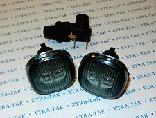 AUDI A3 A4 A8 SEAT Ibiza SKODA Superb Fabia Octavia LED INDICATORS SMOKED - PAIR