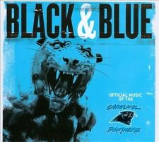 """""""Black and Blue"""" Official Music of the Carolina Panthers (CD, 2010) Football"""