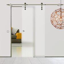 Soft Stop Glasschiebetür Glastür Edelstahl 900x2050mm BPS900A