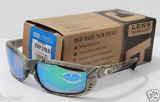 COSTA DEL MAR Zane POLARIZED Sunglasses Realtree Camo/Green Mirror 400 GLASS NEW