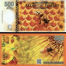 ATLANTIC FOREST - 500 aves dollars 2016 FDS UNC