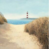 James Wiens: Beach Path Square Fertig-Bild 68x68 Wandbild Strand Meer Deko
