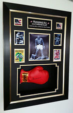 *** Rare MUHAMMAD ALI SIGNED GLOVE and Display Case *** ON LINE COA 1488751