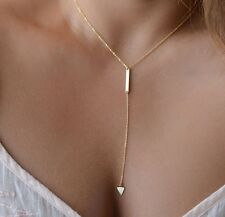 Allure Tags - Gorgeous Women Triangle Charm | Gold pendant | chain choker gift