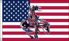 USA End of the Trail USA America 5ft x3ft (150cm x 90cm) Flag