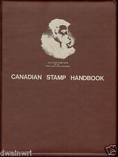 """Canadian Stamp Handbooks Binder (Maroon) by Michael Milos"