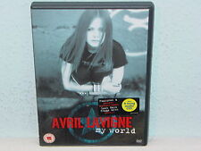 "*****DVD-AVRIL LAVIGNE""MY WORLD""-2003 Arista Records DVD+Audio CD*****"