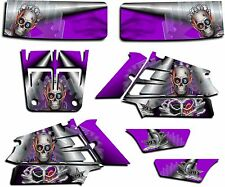 YAMAHA BANSHEE GRAPHICS WRAP DECAL STICKER KIT TURBO CHARGED PURPLE