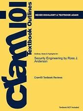 Studyguide for Security Engineering by Anderson, Ross J., ISBN 9780470068526 (C