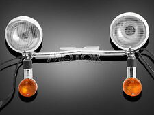 Motorcycle Headlight Turn Signals Fit Honda Shadow VT VF VTX Cafe Racer