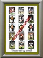 WEST BROM - 1972-73 - REPRO STICKERS A3 POSTER PRINT