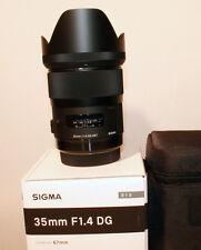"""Sigma DG 35 mm F/1.4 HSM ARTDG Objektiv für  """"Nikon AF """"Neu mit Rechnung"""