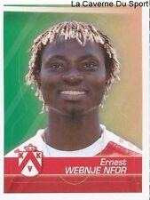 180 ERNEST WEBNJE NFOR CAMEROON KV.KORTRIJK STICKER FOOTBALL 2012 PANINI