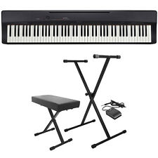 Casio Privia PX-160 88-Key Digital Piano Keyboard Black + Stand + Bench + Pedal