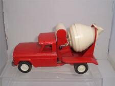 TONKA TOYS CEMENT MIXER RED IN USED VINTAGE SCROLL DOWN FOR THE PHOTOS