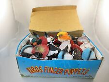 Childrens Bird Finger Puppets