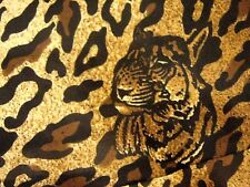 Joseph Ribkoff Leopard Print Tiger Cat Chiffon Mermaid Peplum Long Skirt UK 10