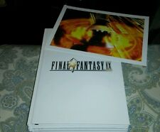 FINAL FANTASY IX 9 COLLECTORS EDITION STRATEGY GUIDE BOOK SEALED NEW WITH LITHO