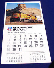 UNION PACIFIC 1989 (RECYCLE & USE IN 2017) Calendar is New/Old/Stock Never Used