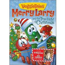 Merry Larry & the True Light of Christmas Veggie Tales DVD - Ships in 12 hrs!!!