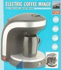 CAFETIERE 12V   ELECTRIQUE CAMPING VOYAGE VOITURE 135W NEUF  05